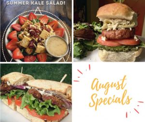 Strong Hearts August Specials