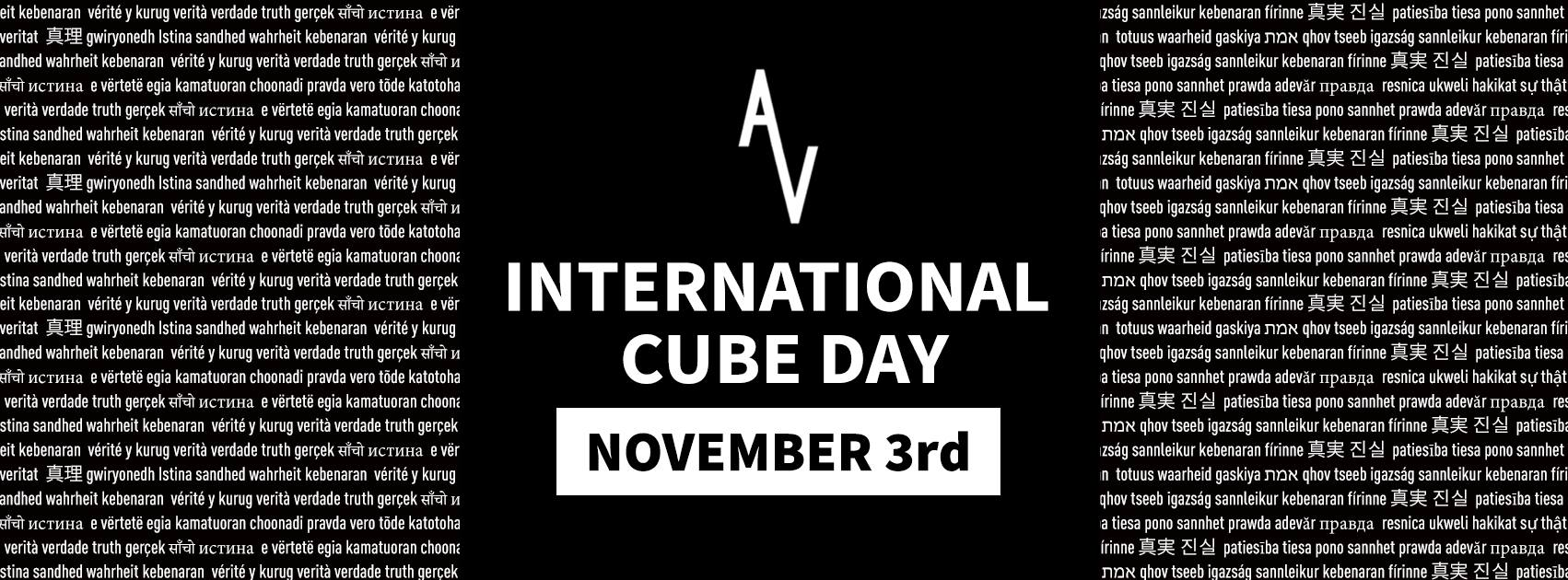 International Cube Day: Syracuse, NY